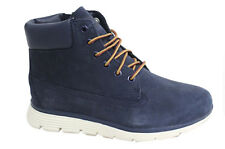 Timberland Killington Lace Up Side Zip Navy Blue Youths Boots A19WD D103