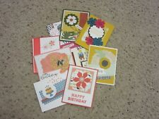 Birthday Greeting Card Pre-Made You Choose Style Color Stampin' Up! Products