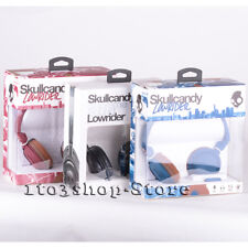 Skullcandy Lowrider On-Ear Foldable Stereo Headphones Headset with Mic Remote