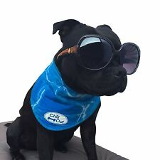 Dog Puppy Chill Out Cooling Neck Cooler Heat Stress Summer Water Bandana AFP