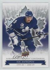 2017-18 Upper Deck Toronto Maple Leafs Centennial #55 Nik Antropov Hockey Card