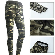 Stretchy Womens Slim Camouflage Pants pencil pants Leggings Jeans