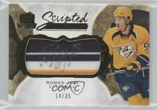 2016-17 Upper Deck The Cup Scripted Materials #SM-JO Roman Josi Auto Hockey Card