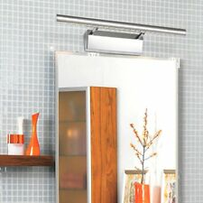 5W 85-265V 5050SMD 21LED Stainless Steel Bathroom Front Mirror Light Wall Lamp