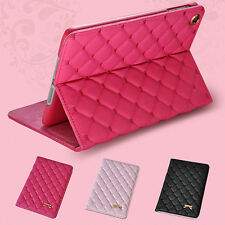 JZ_ Bow Faux Leather Smart Case Stand Cover for iPad 2 3 4 5 Air 2 Mini Fantas