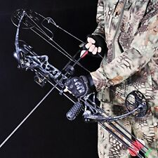 "Compound Bow and Arrow Archery Hunting Target Limbs Bow Kit 19-30""/ 19-70 LBS"