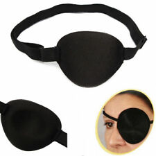 2X Medical Use Concave Eye Patch Foam Groove Adjustable Strap Washable Eyeshades