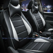 for Audi Q3 8U 13- 18 Car Seat Covers Front Rear Full Set Synthetic Leather Auto