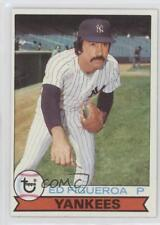 1979 Topps Burger King Restaurant New York Yankees #11 Ed Figueroa Baseball Card