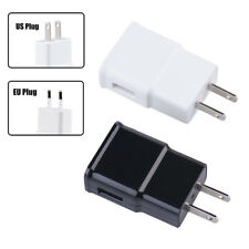 5V 1A US/EU Plug 2 USB Wall Phone Charging Charger Adapter For Samsung iPhone