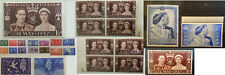 Great Britain Stamps King George VI Commemorative Issues MNH MH & Used