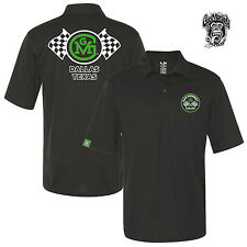 Gas Monkey Garage Men's PoloShirt Shirt Checkered Flags Tuning S to 3XL NEW