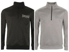 Lonsdale Poly Quarter Zip Jacket Mens Tracksuit Top All Sizes