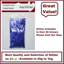 BLUE GLITTER - BULK PACKS - NAIL ART - WINE GLASS - ARTS & CRAFTS 100g - 1Kg