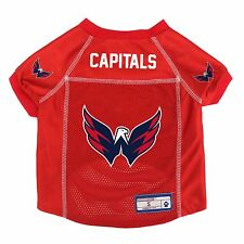 Washington Capitals NHL Pet dog jersey shirt (all sizes) NEW