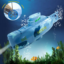 WOW 360°Rotation Mini Remote Control RC Submarine Boat Toy for Lake Pool