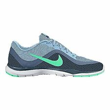 Nike Womens Flex Trainer 6 Running Trainers 831217 Sneakers Shoes (US 6, blue c