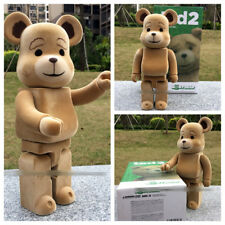 Medicom Bearbrick Ted2 Toy Bear Figure Animal 400% Be@rbrick 28CM Teddy Kaws Ted