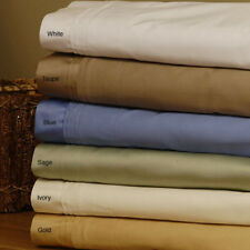 Cal-King Size Bedding Item 1000TC Egyptian Cotton Select Color All Solid/Stripe