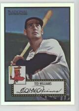 2007 eTopps eCon 5 National Convention Base 409 Ted Williams Boston Red Sox Card