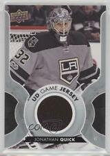 2017-18 Upper Deck UD Game Jersey #GJ-JQ Jonathan Quick Los Angeles Kings Card