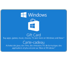 Windows Gift Code $15 $25 or $50 - Email Delivery