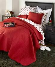 Be Mine Quilt or Sheet Sets King Queen Full Valentine's Day Decor Heart Bedroom