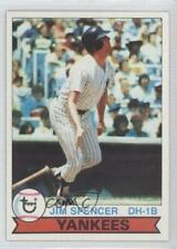 1979 Topps Burger King Restaurant New York Yankees #17 Jim Spencer Baseball Card