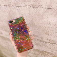 Laser Rainbow Glitter Soft TPU Bling Case Cover for Apple iPhone X 8 7 Plus 6s