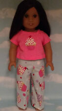"""Pajamas handmade for 18"""" American Girl Doll to fit 18 inch Doll Clothes 303b"""