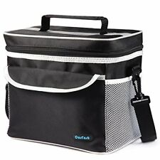 Insulated Lunch Cooler Bag Large Box Tote for Women Men Adults Kids by Cosfash