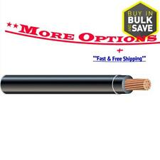 Southwire SIMpull 1-10-AWG Gauge Stranded Black Copper THHN Wire (By-the-Foot)