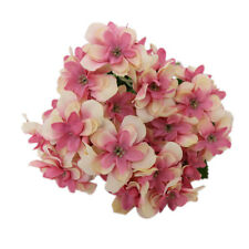 10 Heads Artificial Cloth Hydrangea Flowers Bridal Party Wedding Decor Home