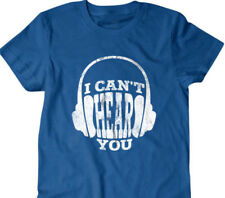 Headphones T-shirt, I cant hear you Funny T shirt, gifts for dad, shirt,