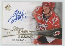 2011 SP Authentic Sign of the Times #SOT-ES Eric Staal Carolina Hurricanes Auto