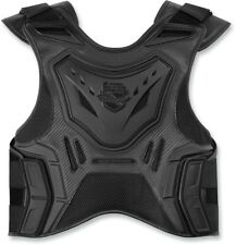 Icon Racing Womens Motorcycle Stryker Rig D30 Chest Protector Black S-XL