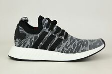 Adidas Originals NMD_R2 PK Primeknit Boost Core Black Mens Shoes BY9409 1801-39