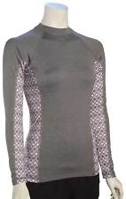 Rip Curl Women's Trestles LS Rash Guard - Charcoal - New