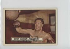 1951 Topps Ringside #32 Rocky Marciano Boxing Card