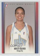 2009-10 Rittenhouse WNBA Rookies #RC3 Kristi Toliver Chicago Sky (WNBA) RC Card