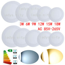 24W Dimmable LED Recessed Ceiling Panel Light Downlight Fixtures for Office/Home