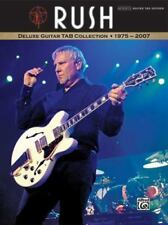 Rush - Deluxe Guitar Tab Collection 1975-2007 Alfred