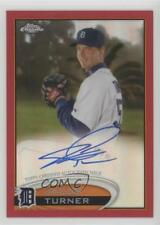 2012 Topps Chrome Rookie Autograph Red Refractor #39 Jacob Turner Auto Card