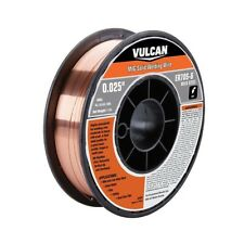 """Vulcan 0.025 to 0.035"""" Various ER MIG Solid Welding Wire, 1-11 lb. Roll"""