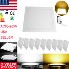 6W 9W 12W 24W LED Recessed Dimmable Ceiling Panel Down Light Floodlight Fixtures