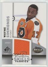 2017-18 Upper Deck SP Game Used NHL All-Star Skills Fabrics AS-WS Wayne Simmonds