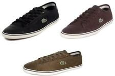 NEW Lacoste Men's Wyken PWT SPM Leather Brown Khaki Black Off White Casual Shoes