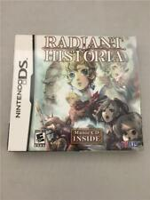New Radiant Historia (Nintendo DS, 2011) Sealed Box w/ Soundtrack by ATLUS 3DS