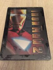 Marvel Studios Iron Man 2 Brand New Sealed DVD Steelbook French Import 2 Discs
