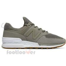 New Balance 574 MS574EMG Mens Shoes Grey Nylon Mesh Running Casual Sneakers